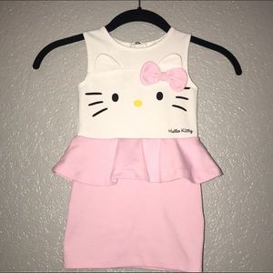 Hello Kitty peplum dress